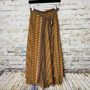 Free People Boho Maxi Skirt